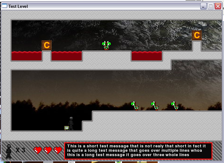 Pygame Game Screenshot