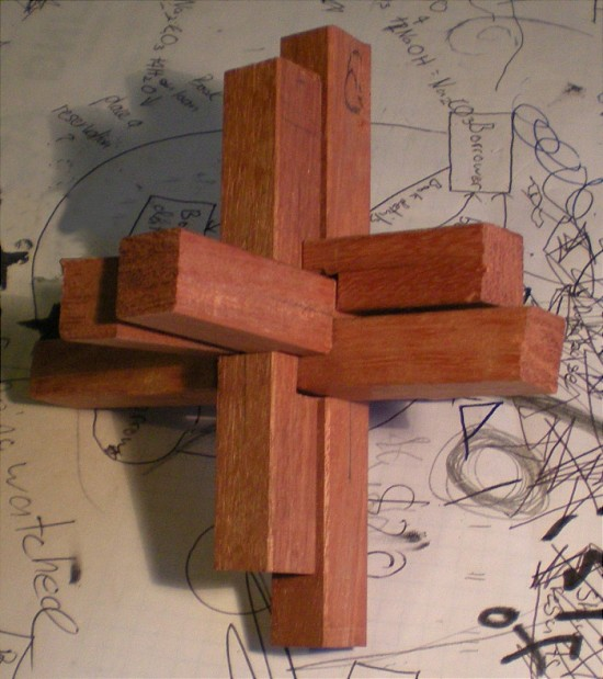 Tripple Cross Puzzle - V1
