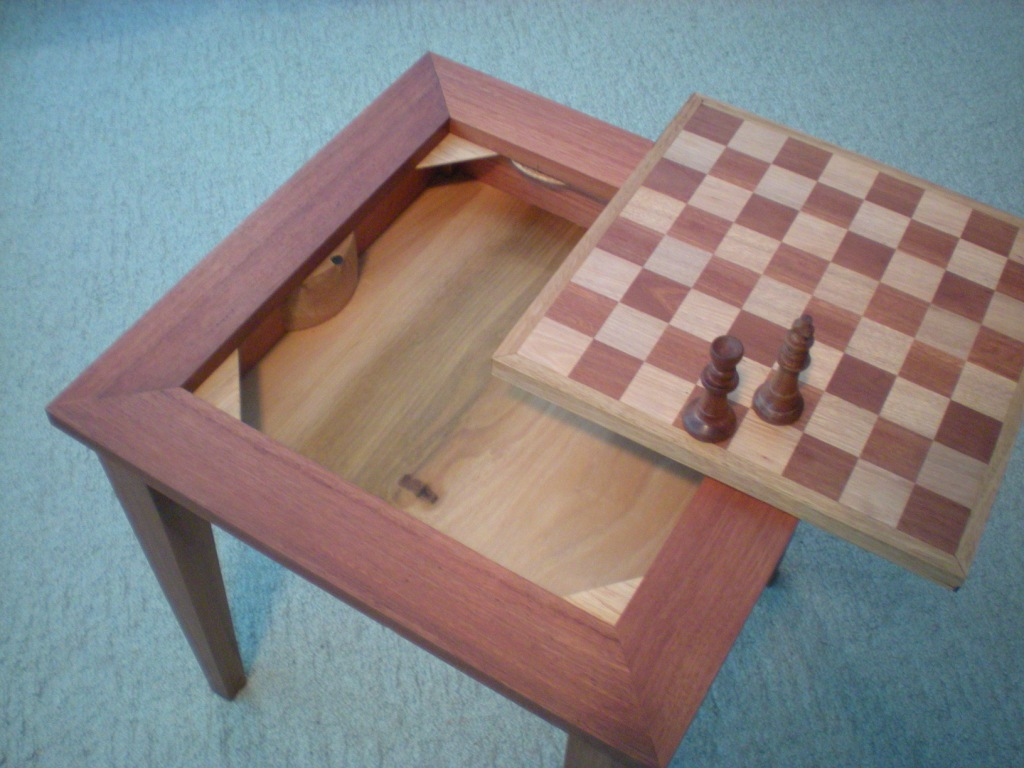 Table Plans Free Download PDF Woodworking Chess board coffee table ...